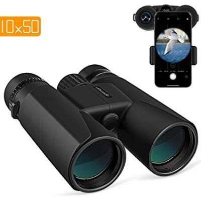 APEMAN 10X50 HD Binoculars for Adults with Low Light Night Vision: