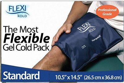 "FlexiKold Gel Ice Pack (Standard Large: 10.5"" x 14.5""):"