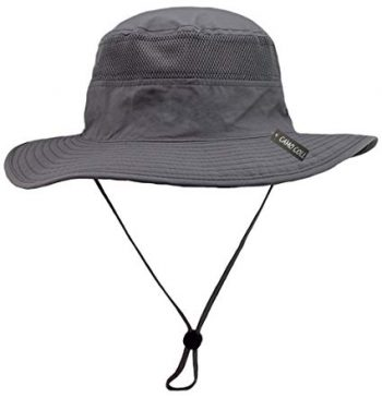 Camo Coll Outdoor UPF 50+ Boonie Hat Summer Sun Caps:
