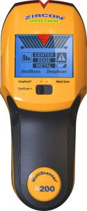11. Zircon MultiScanner A200 Electronic Wall Scanner / Center Finding and Edge Finding Stud Finder: