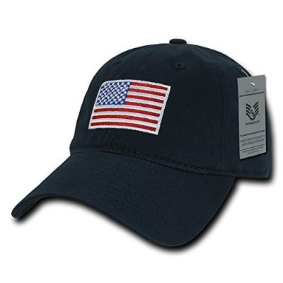 Rapid Dominance American Flag Soft Cotton Fitting Cap