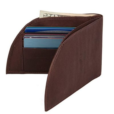 3. Front Pocket Wallet by Rogue Industries - Classic Wallet in Genuine Top Grain Leather: