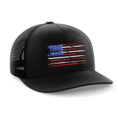 Tactical Pro Supply USA American Flag Snapback Hat: