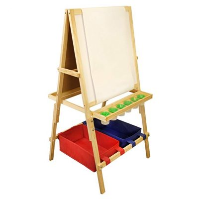 US Art Supply Cardiff Children's Art Activity Easel with Easel Paper Roll: