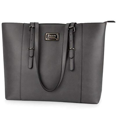 14. ZYSUN Laptop Tote Bag Fits Up to 15.6 in Awesome Gifts for Women: