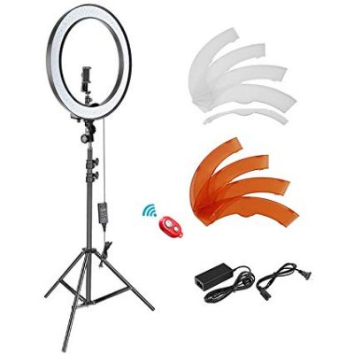 Neewer 18-inch Outer Dimmable SMD LED Ring Light Lighting Kit: