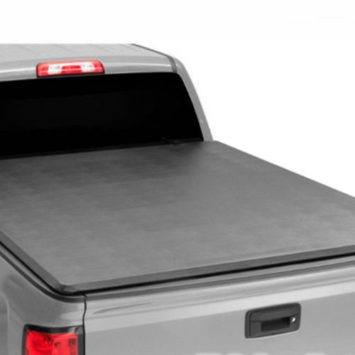 FUYU Soft Tonneau Cover for Toyota Tacoma 2016-2018 with 6ft/72in Fleetside Bed