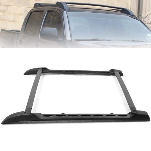 GZYF Roof Rack Side Rails Bars Set for For 2005-2018 Toyota Tacoma Double Cab