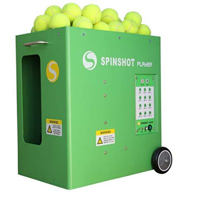 Spinshot-Player Tennis Ball Machine with Phone Remote Supported - Tennis Ball Machines