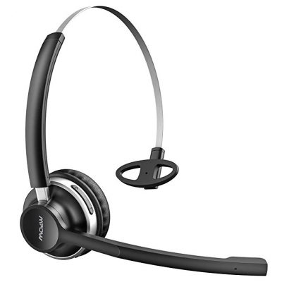 7. Mpow HC3 Bluetooth Headphones, Dual-Mic Noise Reduction: