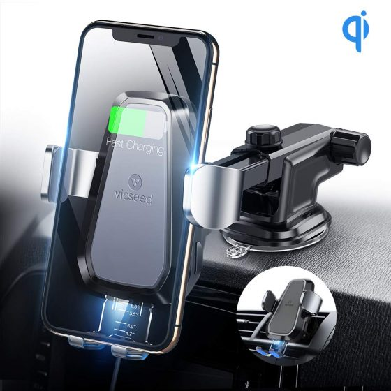 VICSEED Wireless Car Charger