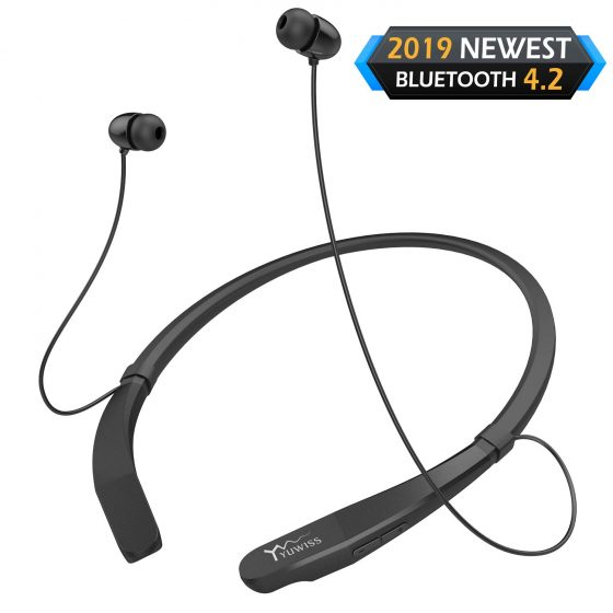 Yuwiss Bluetooth Headphones with neckband