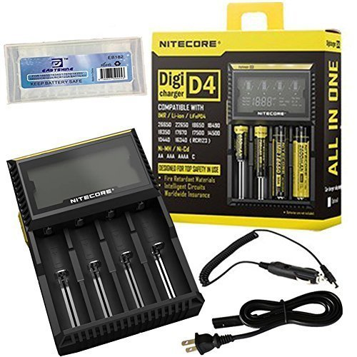 NiteCore-D4+CAR-Adapter+BBOX-T Bundle Nitecore D4 Charger