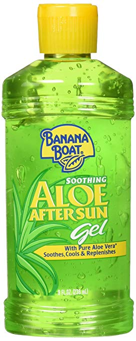 Banana Boat Soothing Aloe After Sun Gel 8 oz