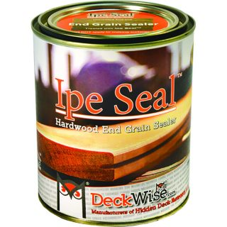 DeckWise Ipe Seal Hardwood End Grain Sealant for Fresh Cut Board Ends or Turning Blanks
