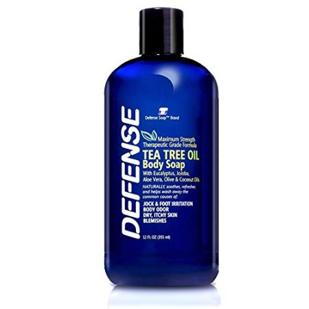 Defense Soap Body Wash Shower Gel 12 Oz