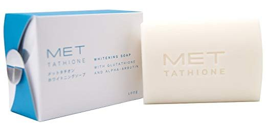 Met Tathione Whitening Soap With Glutathione and Alpha-Arbutin