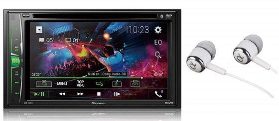 Pioneer in-Dash Double Bluetooth Multimedia