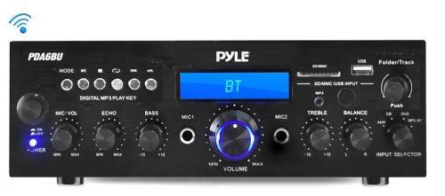 Pyle Bluetooth Stereo Amplifier Receiver-Bluetooth Amplifiers