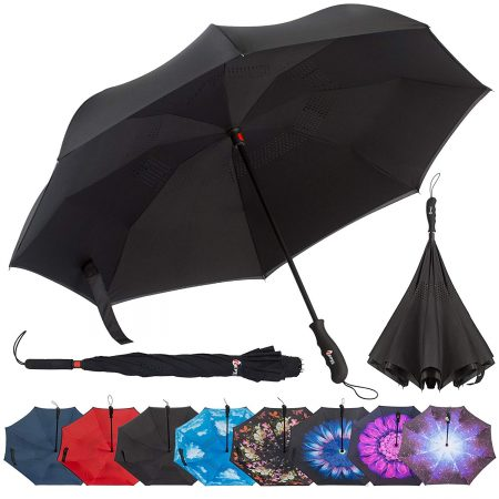 Repel Reverse Folding Inverted Umbrella