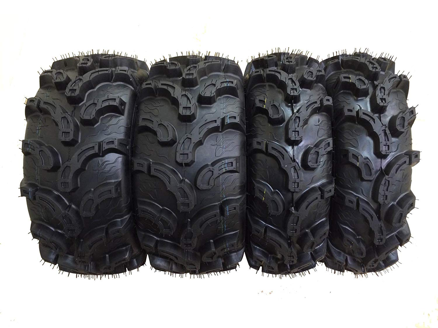 Set of 4 New Premium WANDA ATV UTV Tires