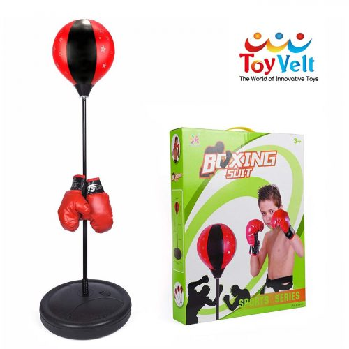 ToyVelt Punching Bag for Kids - Boxing Set Incl Gloves-Punching Bags For Kids