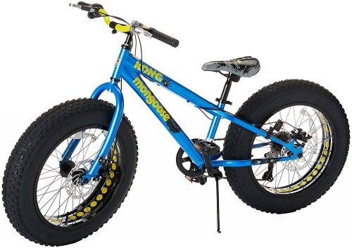 Mongoose Kong Fat Tire Mountain Bike for Kids and Children