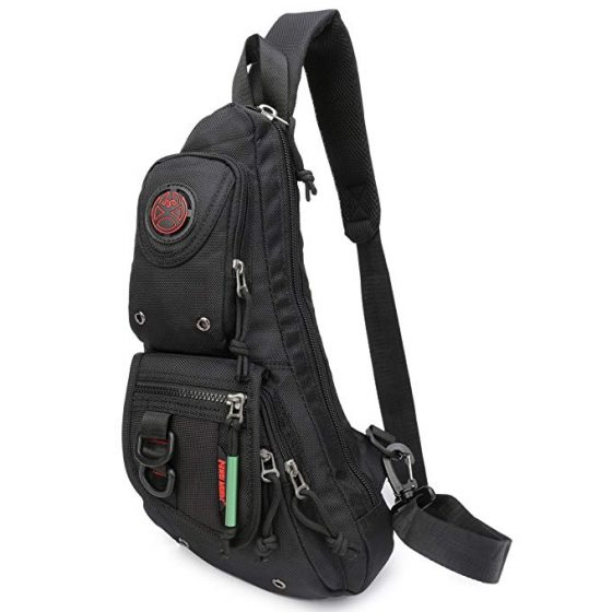 Sling Backpacks, Sling Chest Bags Shoulder Fanny Pack Crossbody Bags for Men