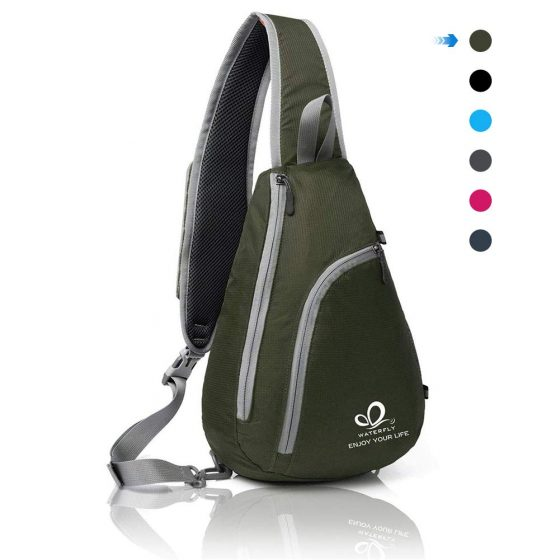 Waterfly Chest Sling Shoulder Backpacks