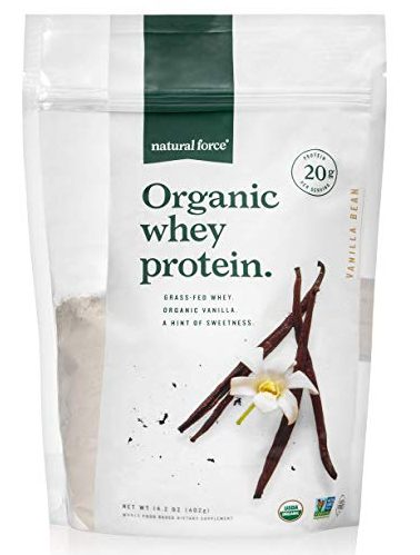 Natural Force® Organic Whey Protein Powder 14.3 oz. *Premium Vanilla Flavor