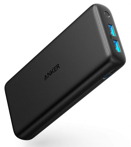 Anker PowerCore Lite 20000mAh Portable Charger, Ultra-High Capacity 4.8A Output Power Bank