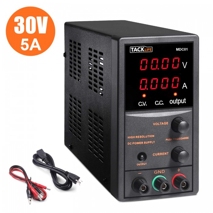 1.Tacklife DC Power Supply