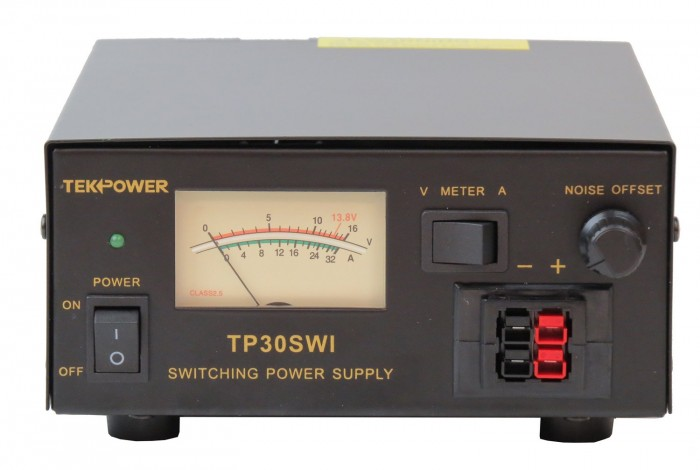 6.TekPower Analog Display TP30SWI 30 Amp DC 13.8V Switching Power Supply with Noise Offset
