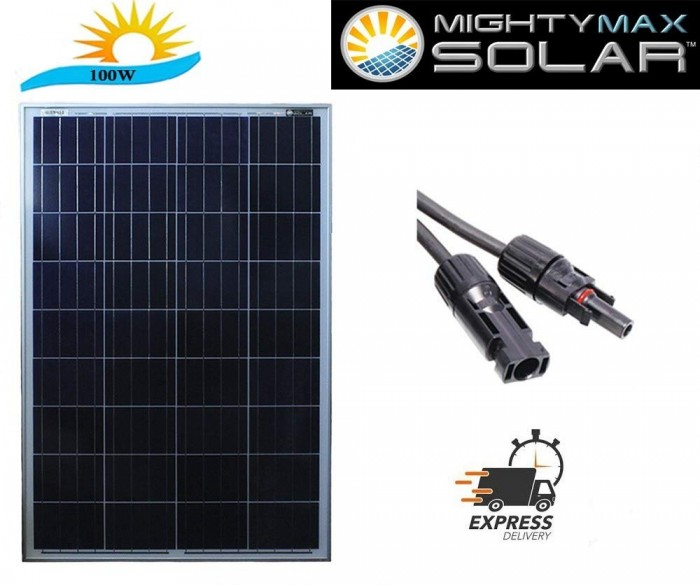The Mighty Max Battery 100 Watt Off Grid Power System