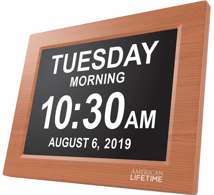 New Version of The American Lifetime Day Clock