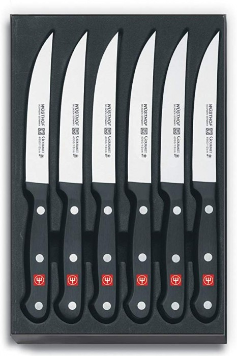 WÜSTHOF Gourmet Six Piece Steak Knife Set