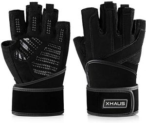 11. Xhaus Weight Lifting Gym Workout Gloves