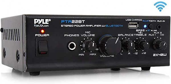 #07- Pyle Mini Home Audio Amplifier