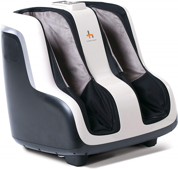 #3. Human Touch Reflex SOL Foot and Calf Shiatsu Massager