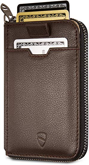 #9- Vaultskin NOTTING HILL Slim Zip Wallet