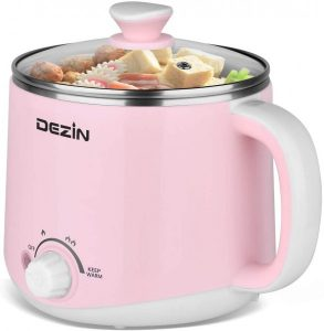 pink electric hot pot