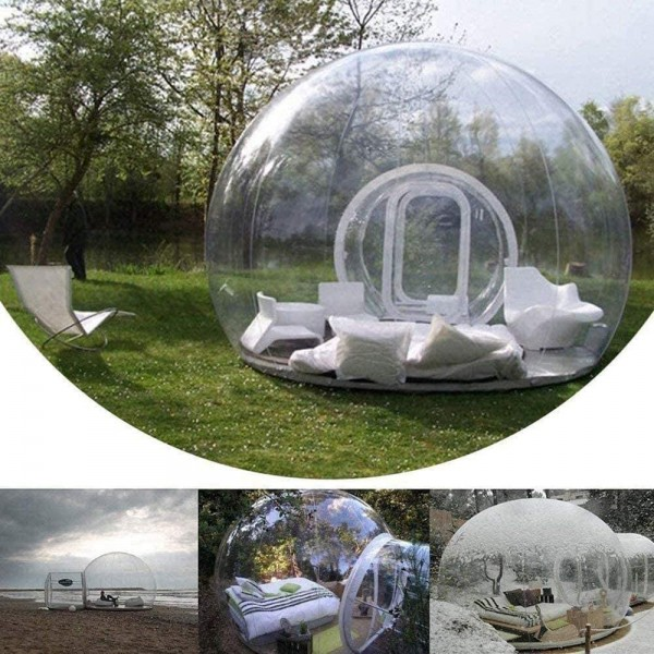 Single tunnel Bubble tent house