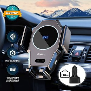 car charger and phone mount holder for car