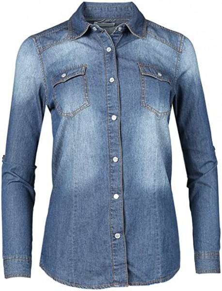 03- Made by Emma MBE Women's Chambray Western Denim Shirt