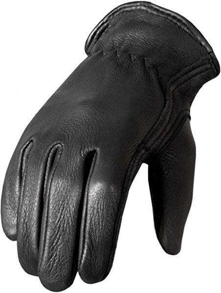 10- Hot Leathers Classic Deerskin Unlined Driving Gloves