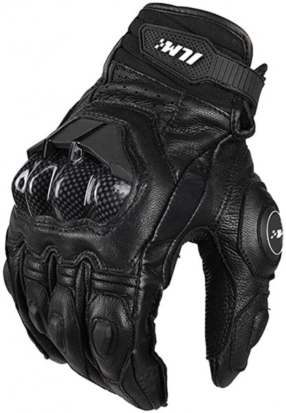5- ILM Air Flow Leather Motorcycle Gloves For Men and Women