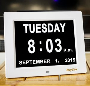 Digital Calendar Clock