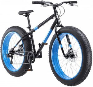 Giant wheeled bicycle for off road and mountain
