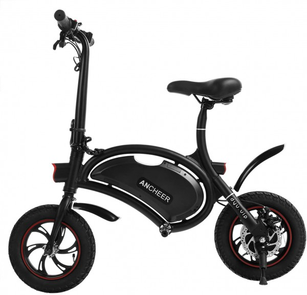 #8. ANCHEER Folding Electric Bicycle E-Bike Scooter