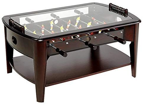 "11. Foosball Coffee Game Wood 42"" Table"
